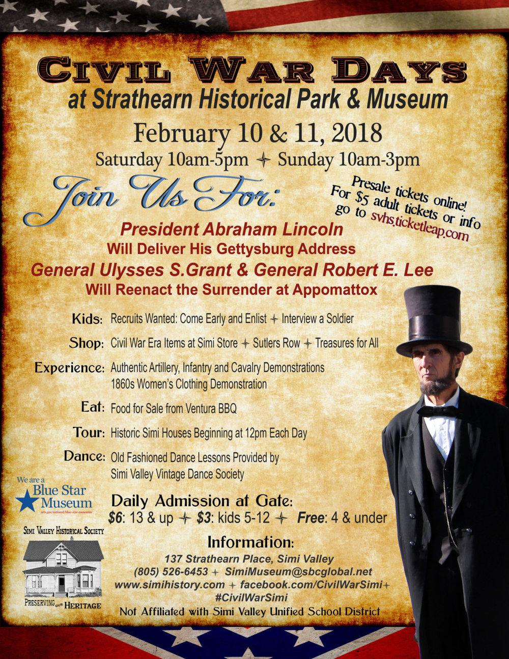 Strathearn Museum Civil War Reenactment — C A S A