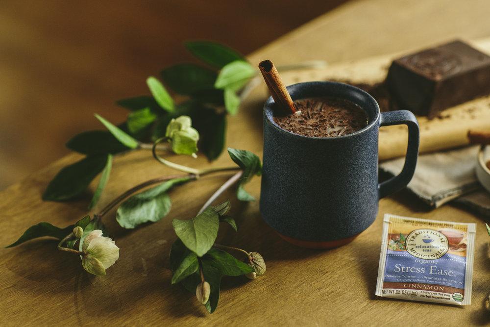 Traditional Medicinal's Stress Ease Hot Cocoa