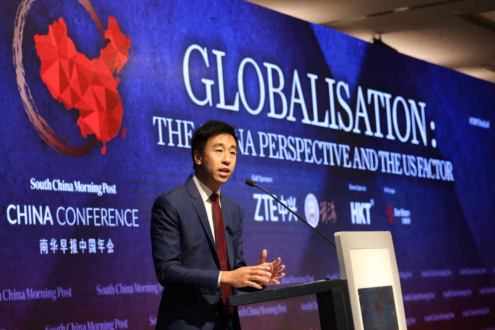 Gary Liu, chief executive officer,  South China Morning Post kicked off the conference by expressing his heartfelt thanks to the 250 participants.