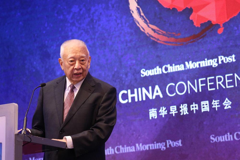 董建华先生大紫荆勋贤致闭幕演讲。