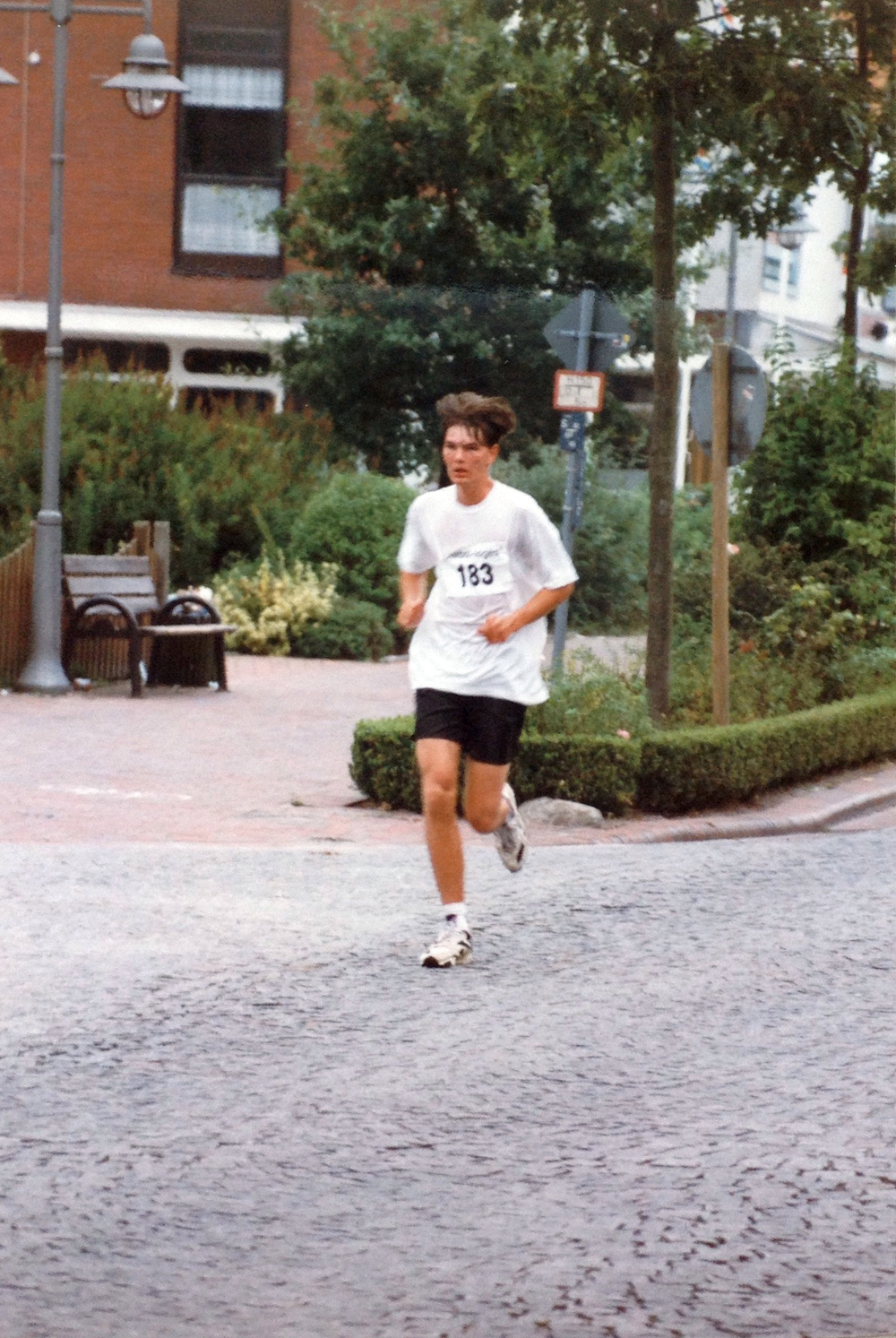 A younger me, running 1996 in Germany