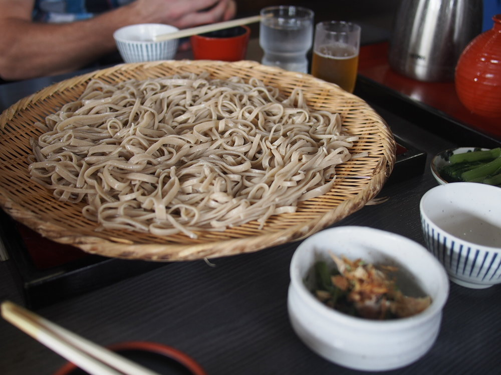 First take on Japanese Soba - Copyright Life-Sparring.com