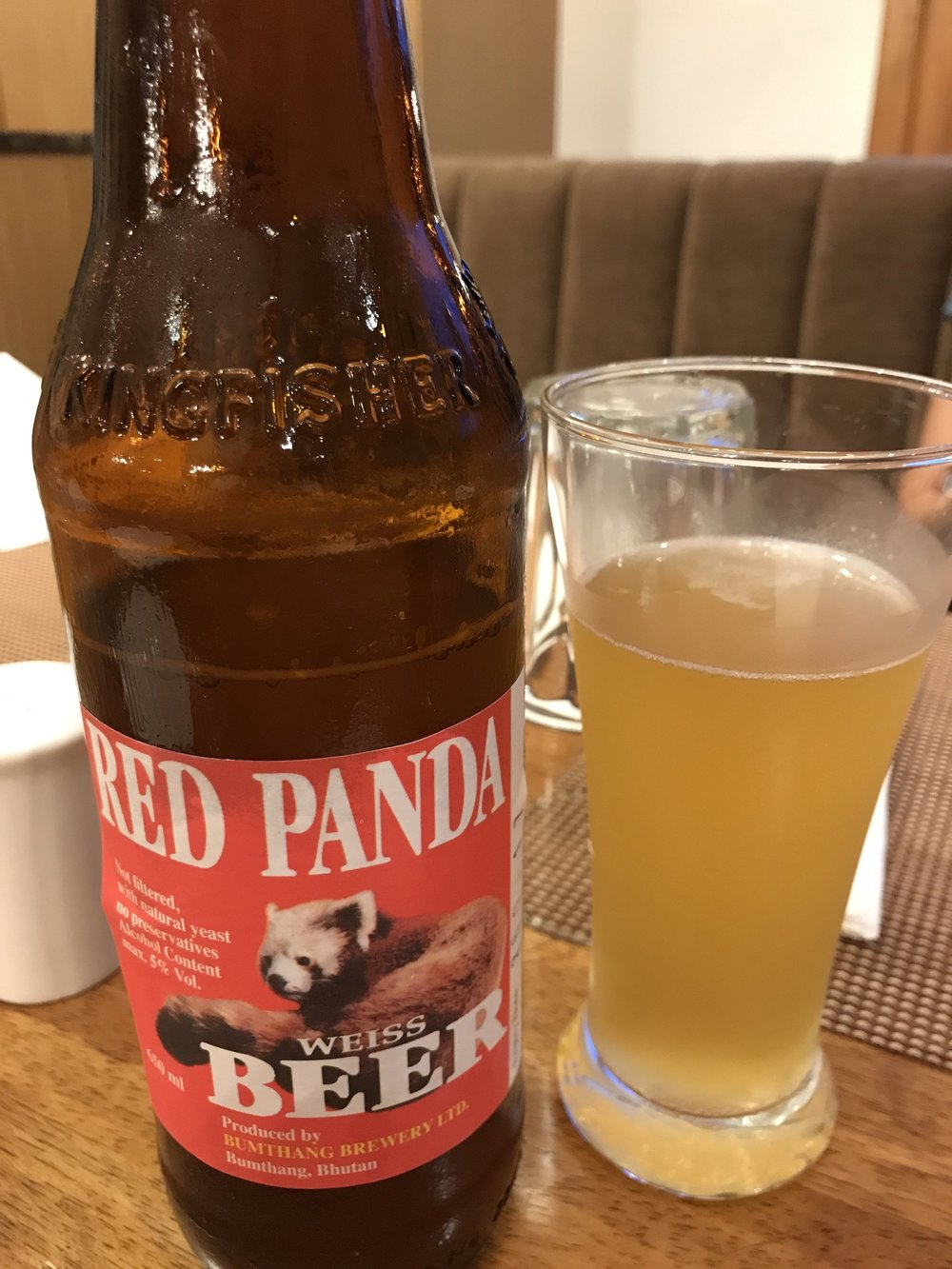Red Panda - Bhutan's original German style Hefeweizen