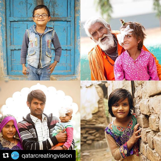 One thing you can't say about India is that it lacks color. Portraits I made in various locations throughout Uttar Pradesh while #onassignment in 2016. #Repost @qatarcreatingvision with @get_repost ・・・ Every child has the potential to change the world! Through the @qatar_fund we're able to reach children struggling with their vision across India and Bangladesh and provide them with the glasses and treatment they need to finish their homework, to learn from their teachers and to play with their friends, without an eye condition blocking their progress.  We are grateful to all of our partners for their amazing support which helps us to achieve so much. Thank you for helping us make dreams come true.  #dreambig #india #bangladesh #vision #glasses #education #future  @qcharity @qatarairways @oryxrotana @wishqatar @thecreativeunion #instagood @orbisintl