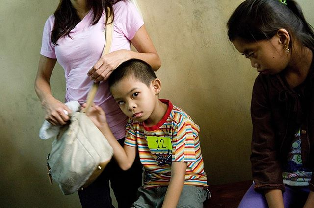 Eye screening patients, Iloilo, Philippines 2012 . . #eyehealth #eyephotography #savesight #eyecareeverywhere #sightlines #strabismus #seetheworld #intheeyes