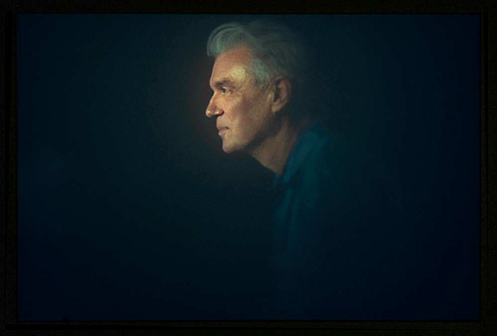 I took this photo of David Byrne while shooting backstage stills for the documentary and performance of Contemporary Color. Documentary directed by Bill Ross and Turner Ross, a.k.a. The Ross Bros.  I also ended up created all the titles and graphics for that film.