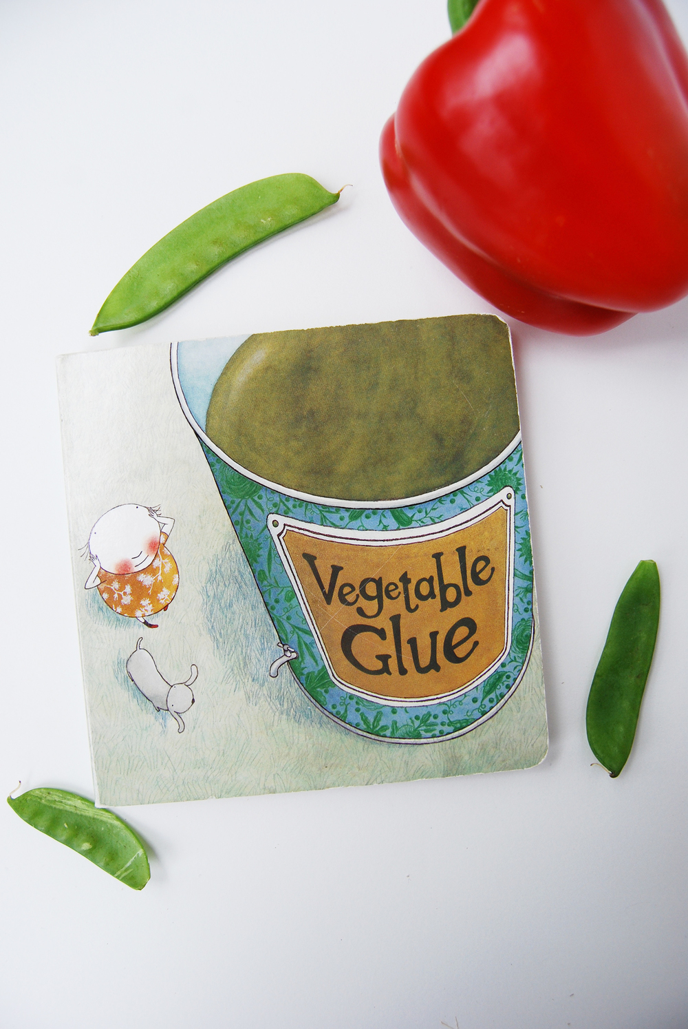 Vegetable Glue Board Book  {affiliate link}