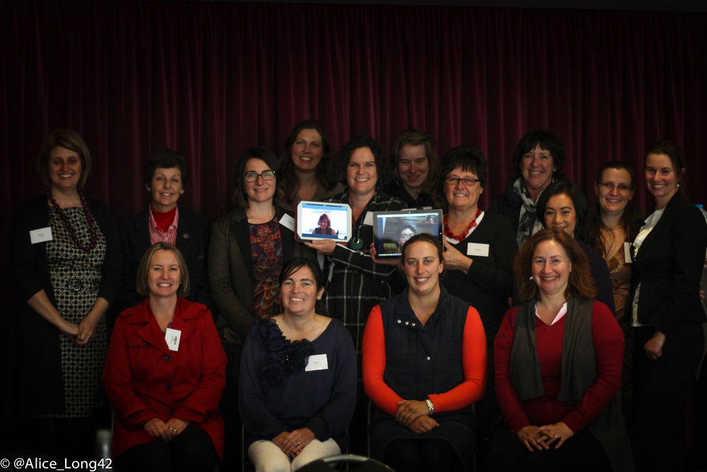 Mentors and mentees of the 2015 'Stepping into Leadership' program