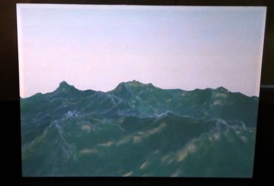 The Waves  (2015) on the rectangular screen.