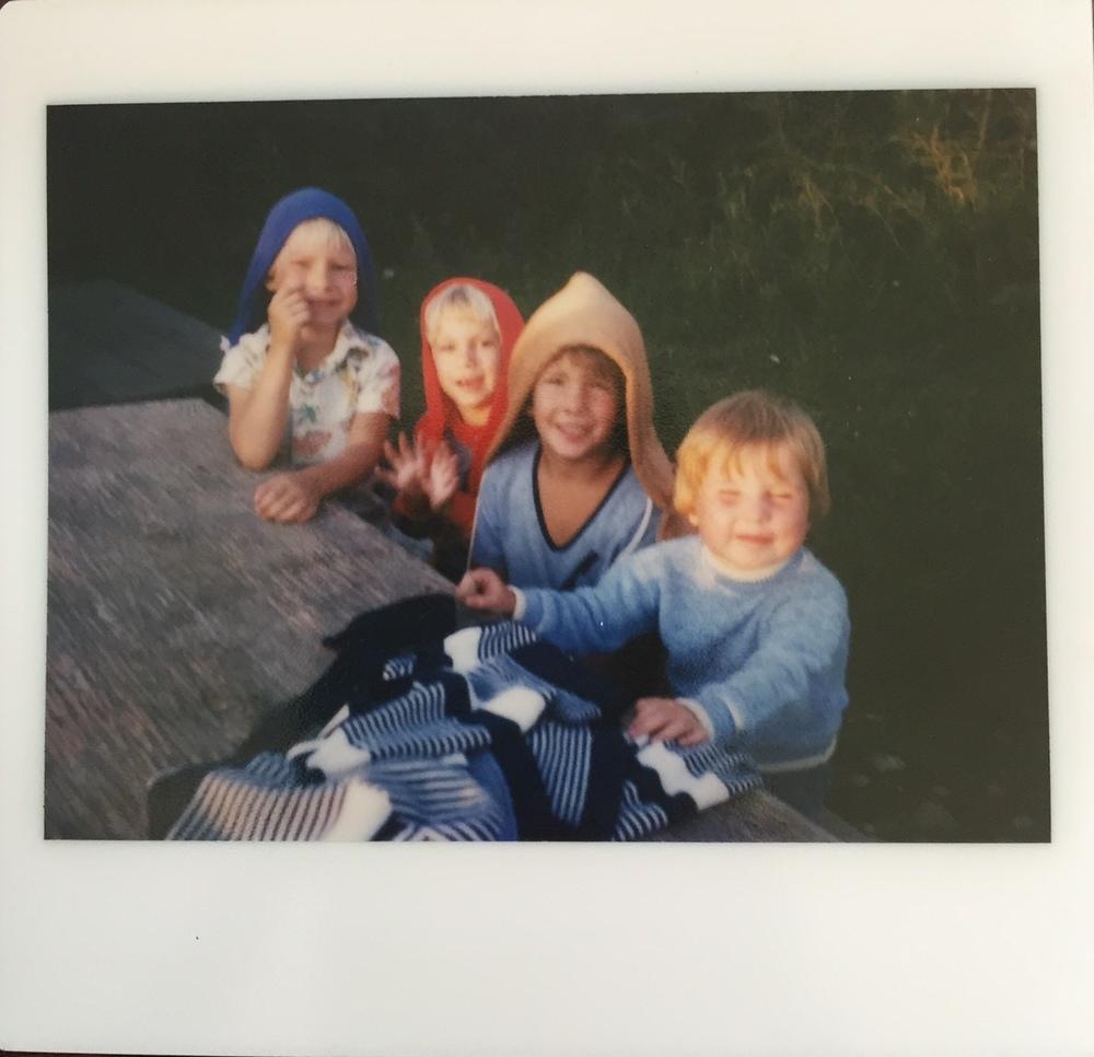 L-R: Brent, Vinnie, Brian(?), Me