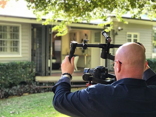 On location in Coorparoo today filming for #Belle Property. #RoninM #Panasonic #GH5 #Videographer #Realestatevideo #propertyvideo #Brisbane | Photo by @bringplutoback