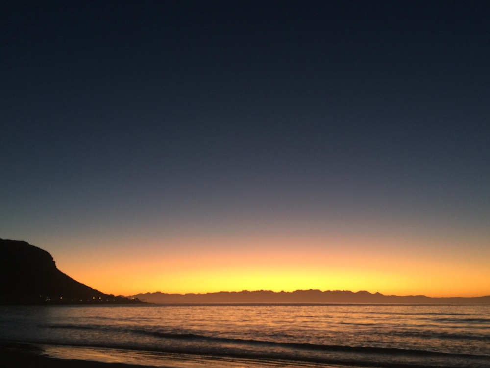Sunrise, Fish Hoek, Southern Peninsula, Cape Town