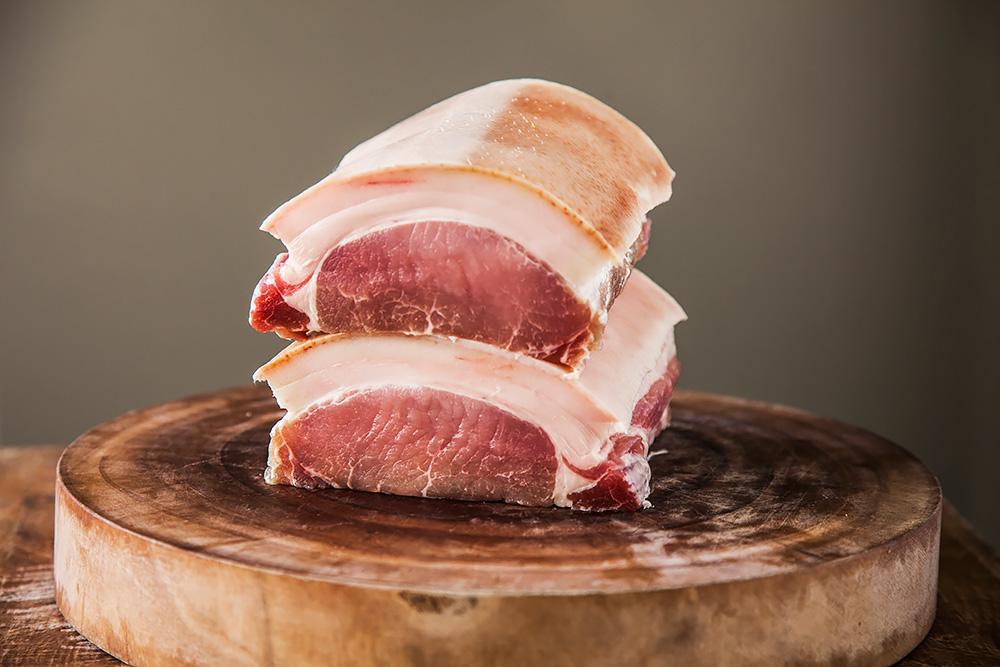 Anglická slanina z přeštíka