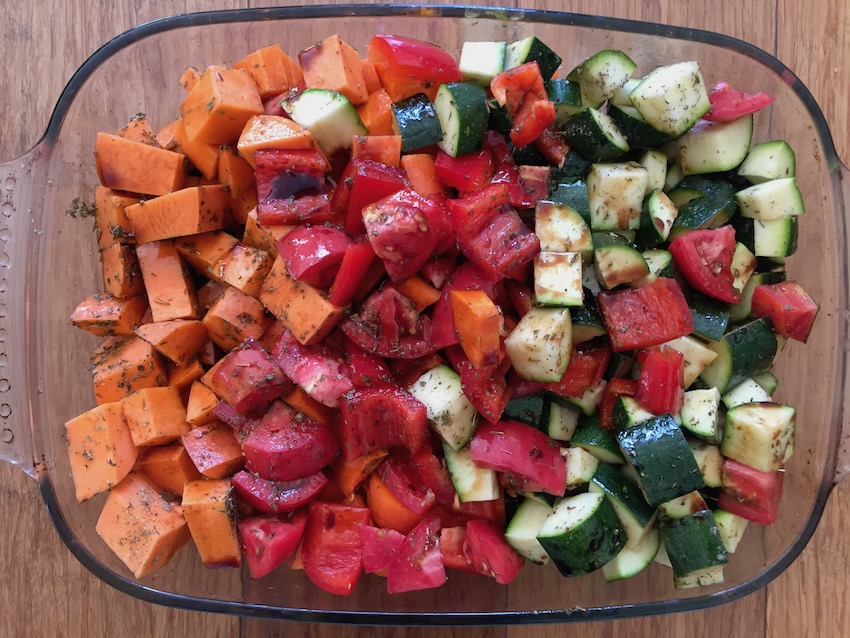 Easy roast veggies