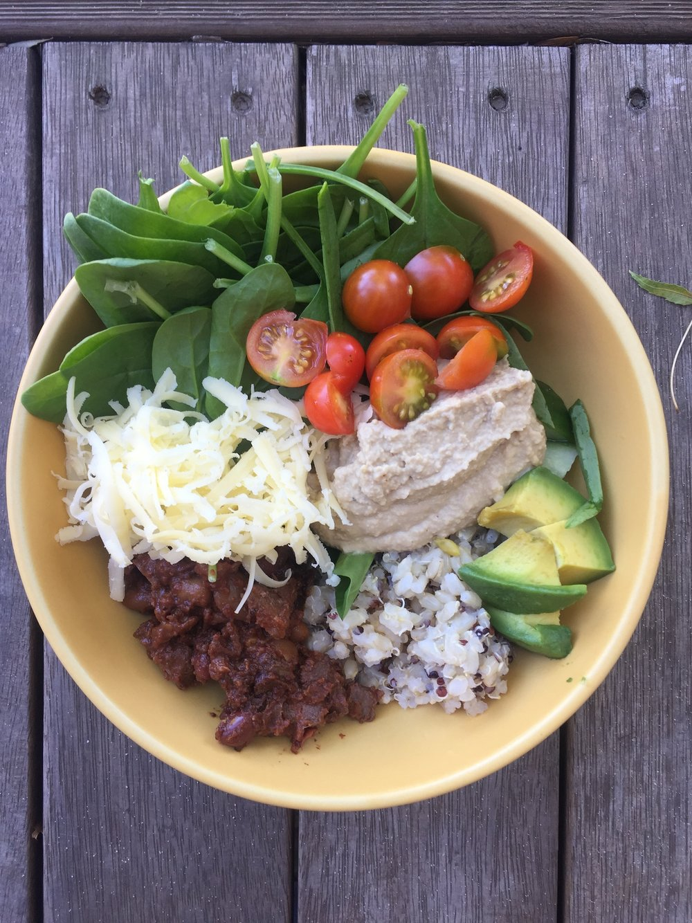 Mexican inspired nourish bowl - so good!