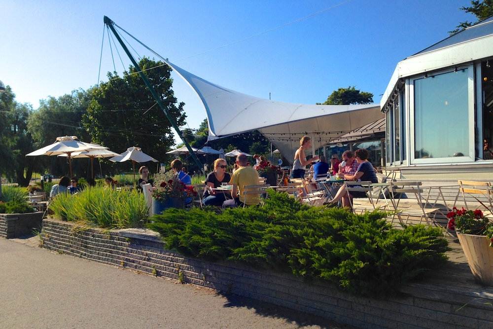 Cafe Ursula: one of the best summer cafes in Helsinki
