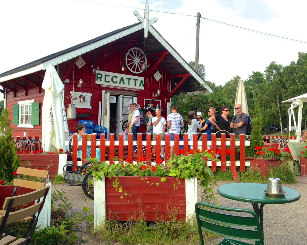 Cafe Regatta: one of the best summer cafes in Helsinki