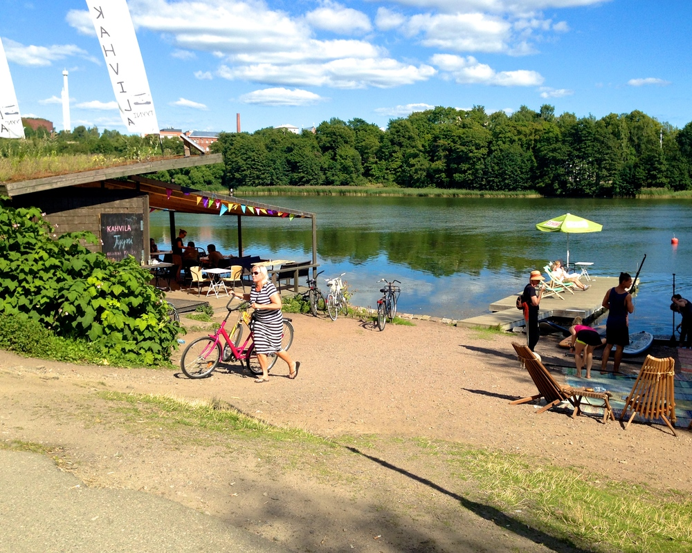 Kahvila Tyyni: One of the best summer cafes in Helsinki