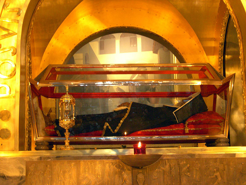 Saint Rita of Cascia - one of the incorruptible saints