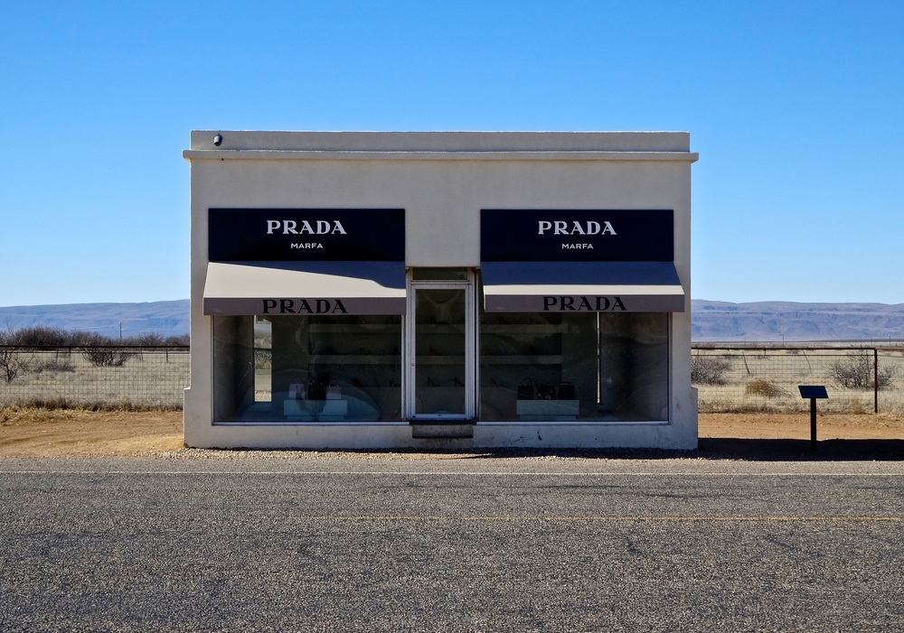See the iconic Prada Marfa on the perfect weekend road trip through West Texas and Big Bend