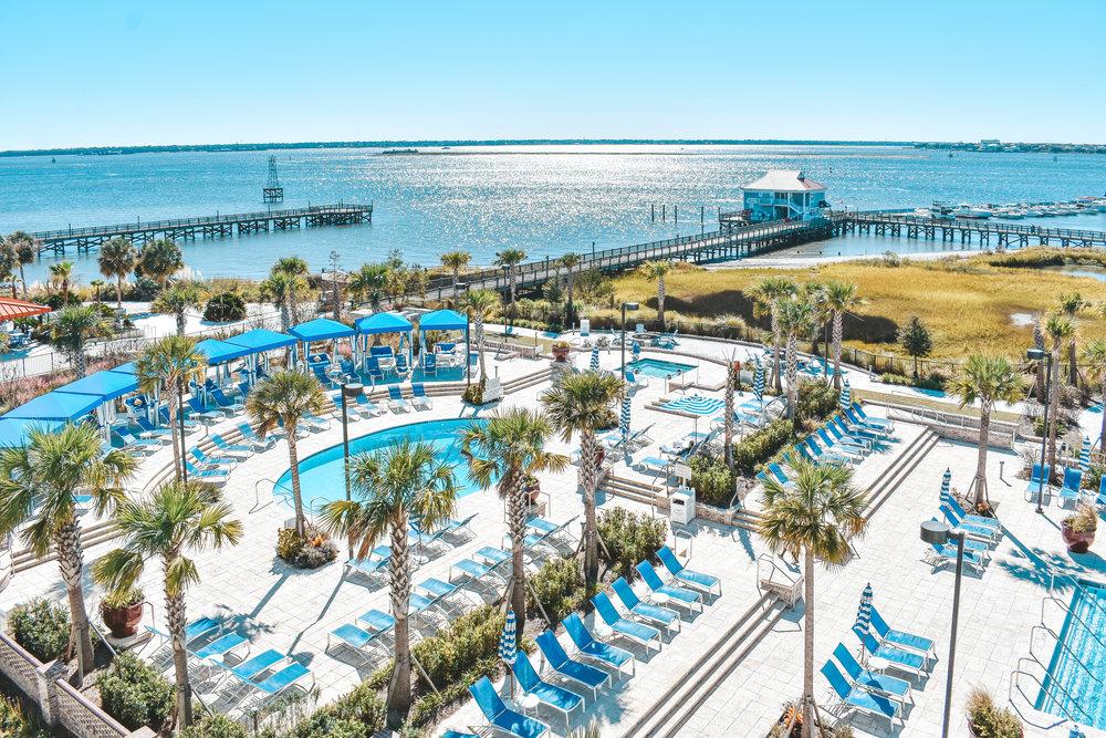 The Beach Club at Charleston Harbor Resort & Marina