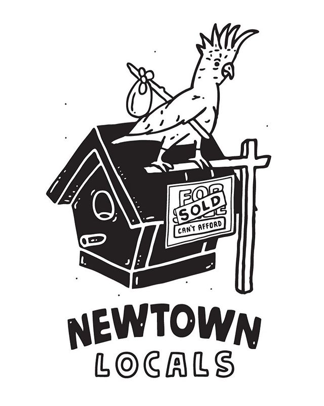 Congrats to our t-shirt comp winner @tim_travers! Last nights launch party for #newtownfestival2017 was fantastic! It's great to see so many people supporting the @newtowncentre. Thanks to @younghenrys for providing the beers and your space. @rising_sun_workshop, @salmonandbear_ and @saga_enmore for providing a delicious sneak peek at this years @newtownlocals summer BBQ menu for the festival and everyone else involved, you're all legends! The t-shirts will be available festival day and all profit will go to helping the @newtowncentre do what they do best, giving hope to the homeless and vulnerable in Sydney's inner west.  #newtownlocals #newtownneighbourhoodcentre #doitforthelocals #tshirtdesign #cantaffordabirdhouse