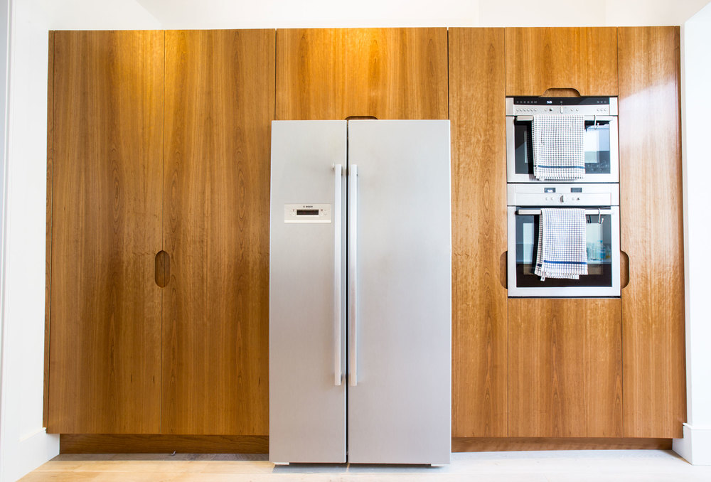cherry walnut design, bespoke kitchen, cupboards, London, west and reid