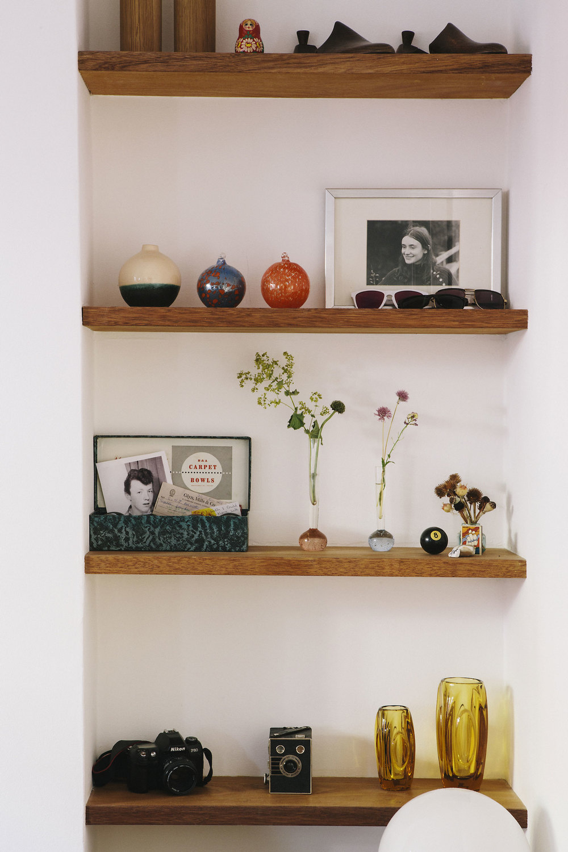 alcove shelves carpenter gypsy hill cherry ply