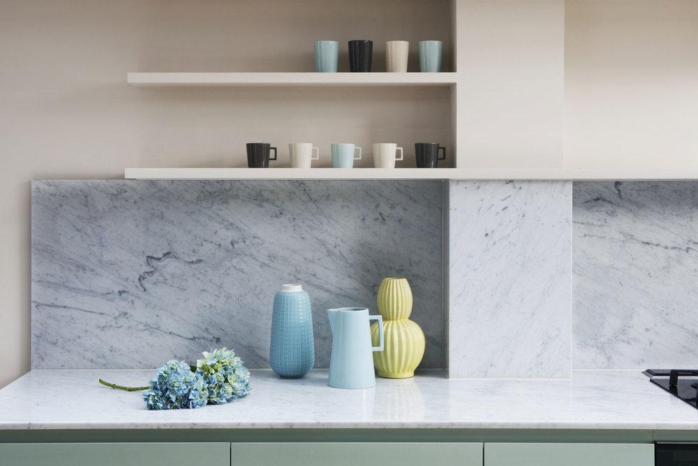 Turney Road Shelves - Kitchen Design Dulwich Village