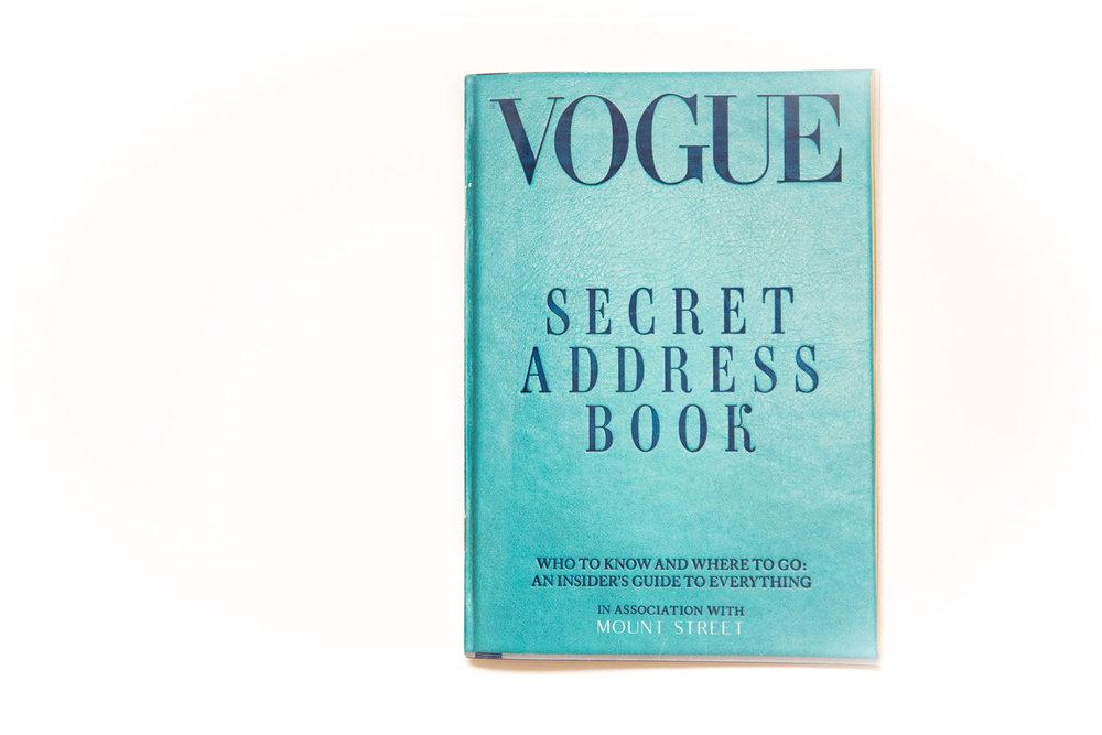 vogue secret address book, bespoke kitchens, west and reid