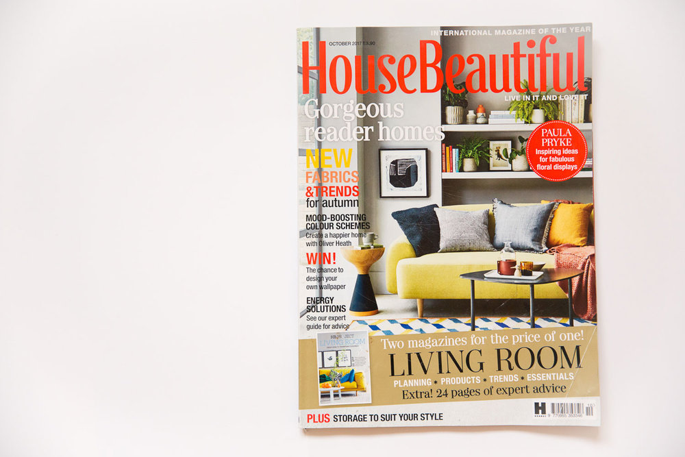 House Beautiful cover west and reid