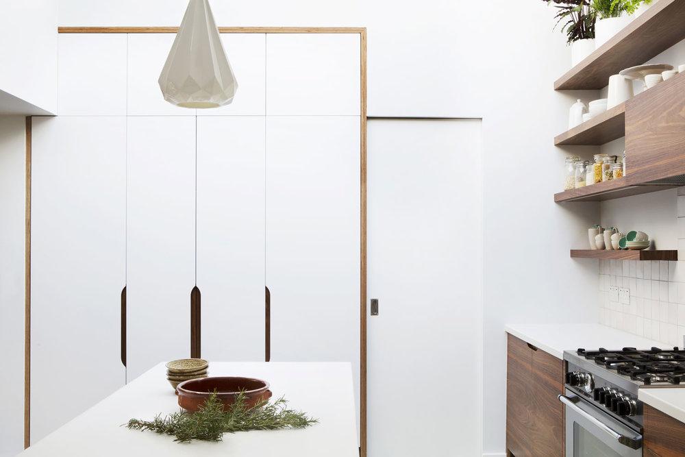 beautiful minimalist london kitchen