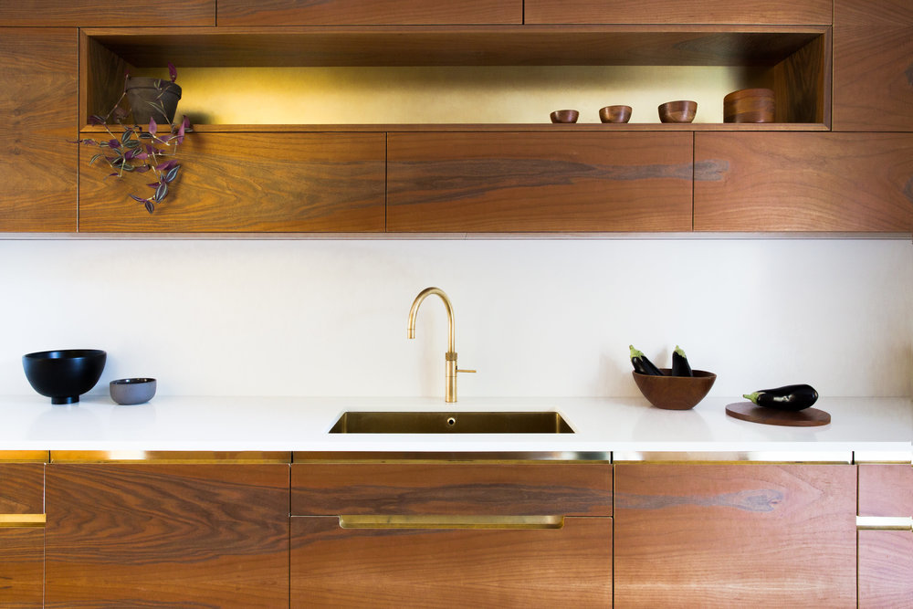 veneer cupboard bespoke kitchen