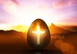 Egg and cross