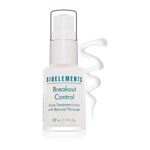 - Bioelements Breakout ControlFor those times when you feel a blemish coming on deep under your skin, this little miracle helps fight breakouts before they come to the surface. I take this with me when I travel as my skin usually doesn't react well to a change in diet and sleeping with different fabric detergents. As soon as I feel something forming under the surface, I apply a tiny bit of this solution and it usually treats the blemish before it's visible.