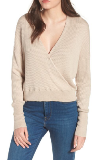 Wearing this in the picture above. Best basic for end of Summer/Fall. So soft and comes in a ton of colors!