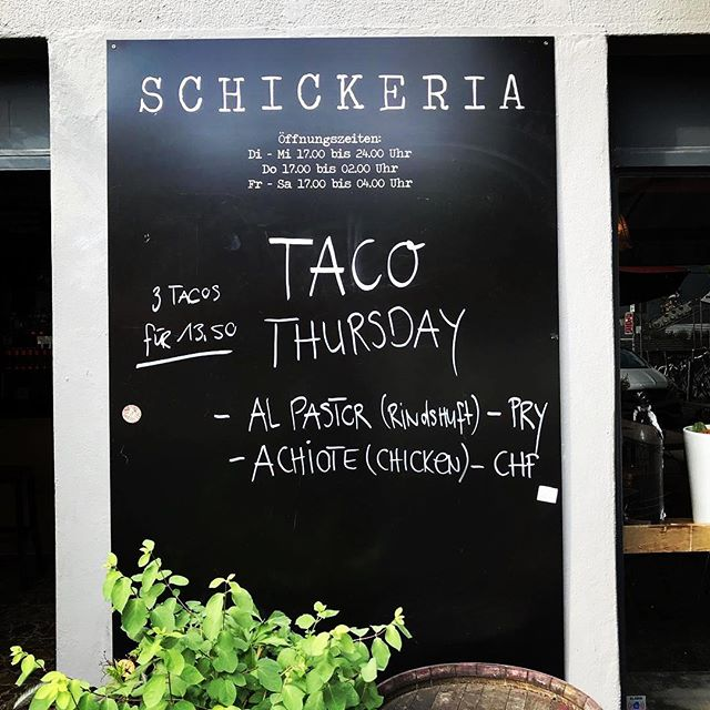 Come an grab your taco our boy @djirresponsible behind the decks  @schickeria_bar #realvinyl by dj irresponsible and a guest set from dj j temple