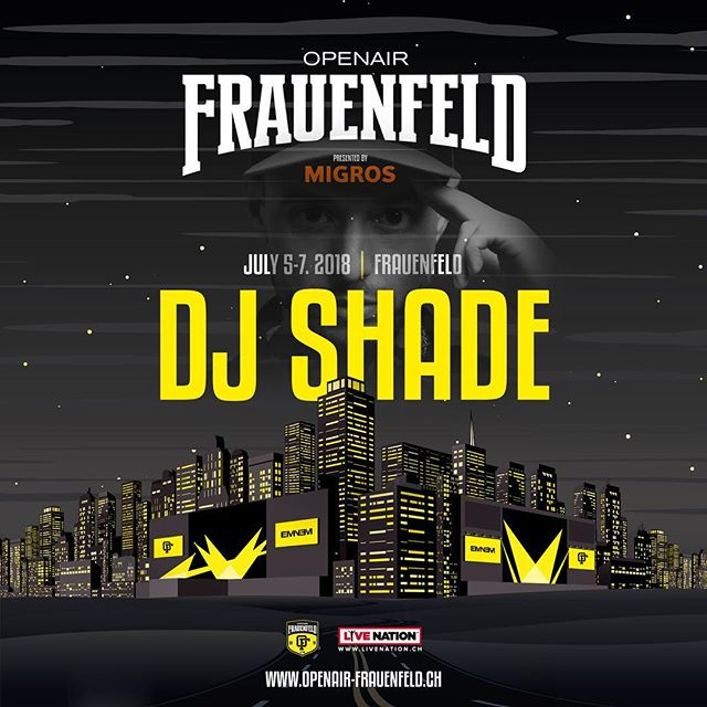 Catch our boy @dj_shade at the @openairfrauenfeldofficial 🍾 22:00-00:00 at the Soul City stage 🔥 -------------------------------------------- cc: @the24club @picassopunk -------------------------------------------- #picassopunk #the24club #djlife #dj #crewlove #hdr #graphic #hiphop #rap #rnb #party #nightlife #nightout #weekend #goodtimes #music #love #instagood #jam #photooftheday #repeat #goodmusic  #oaff #openairfrauenfeld #openair #summer18 #bacardidome #bacardi #restlezz