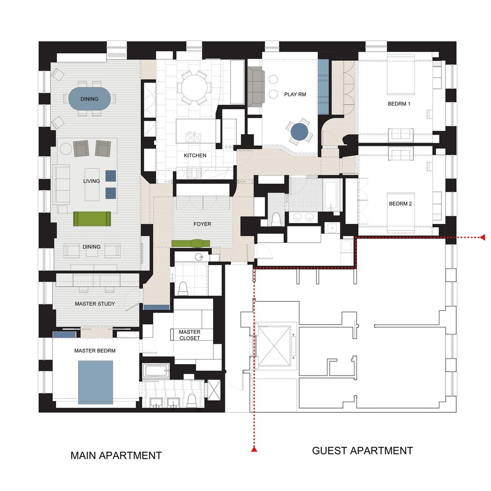 The main apartment is now 1.5x bigger. The main apartment is now 1.5x bigger. The main apartment is now 1.5x bigger.