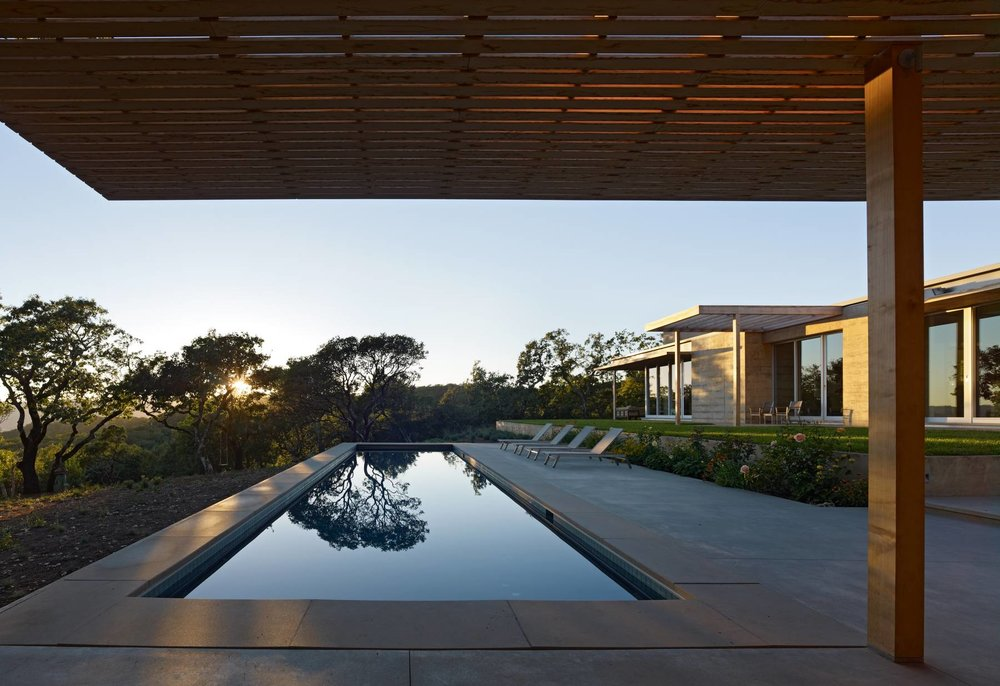 Sonoma Residence, Sonoma, California, 2010   Gluckman Mayner Architects:   Carol Chang, Snr Archt