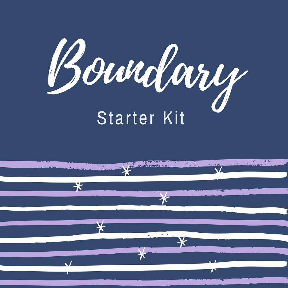 Boundary Starter Kit