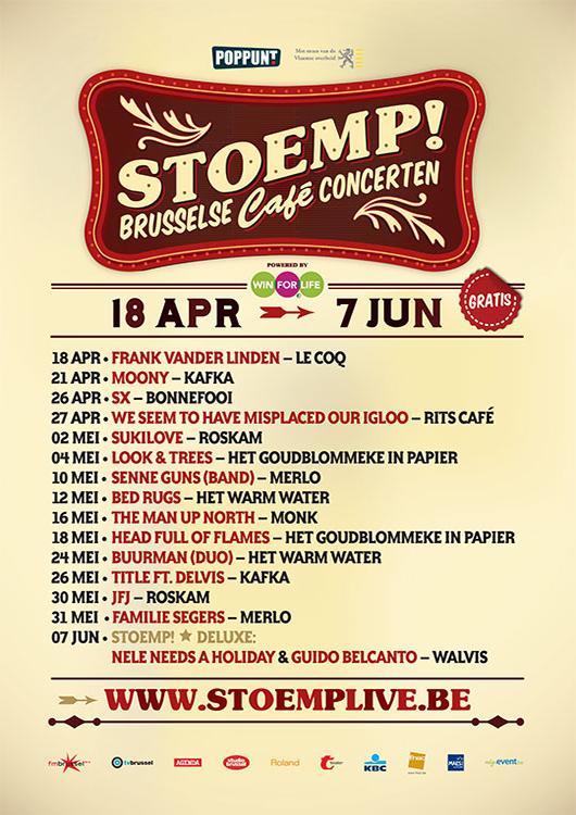 Stoemp! voorjaar 2011