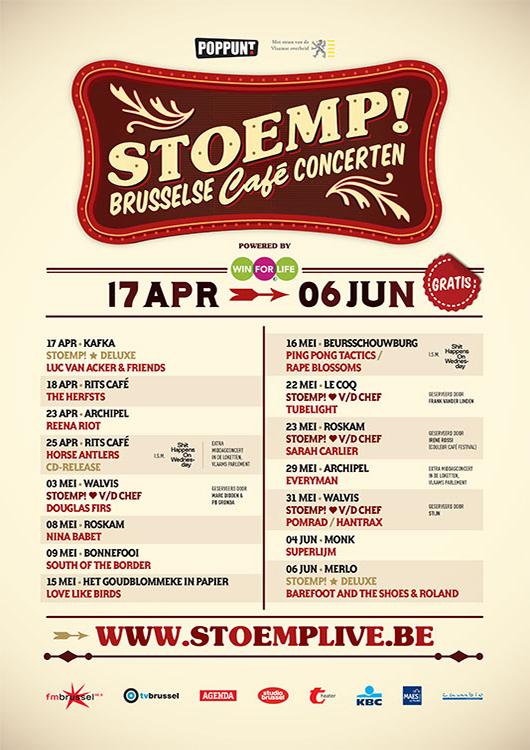 Stoemp! voorjaar 2012