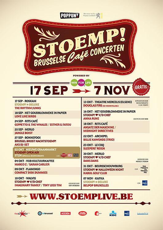 Stoemp! najaar 2012