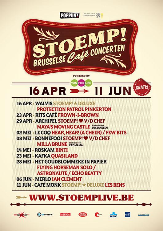 Stoemp! voorjaar 2013
