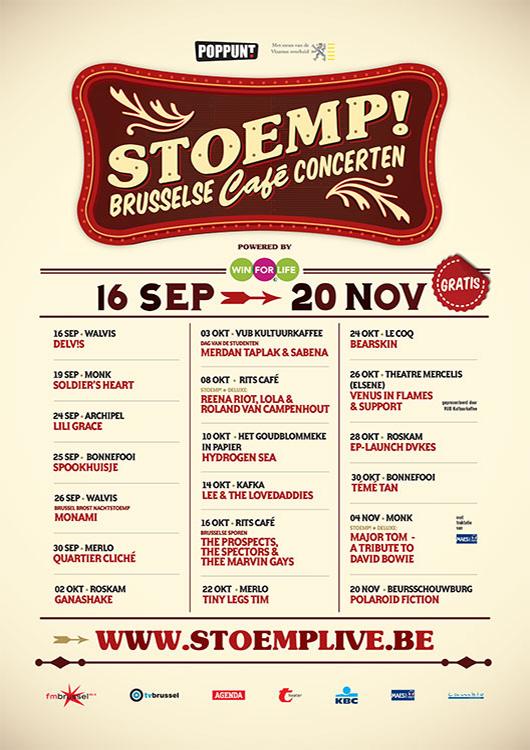 Stoemp! najaar 2013