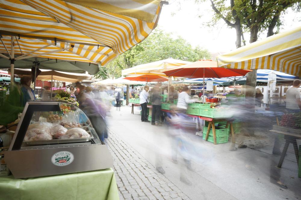 Markt(treiben)
