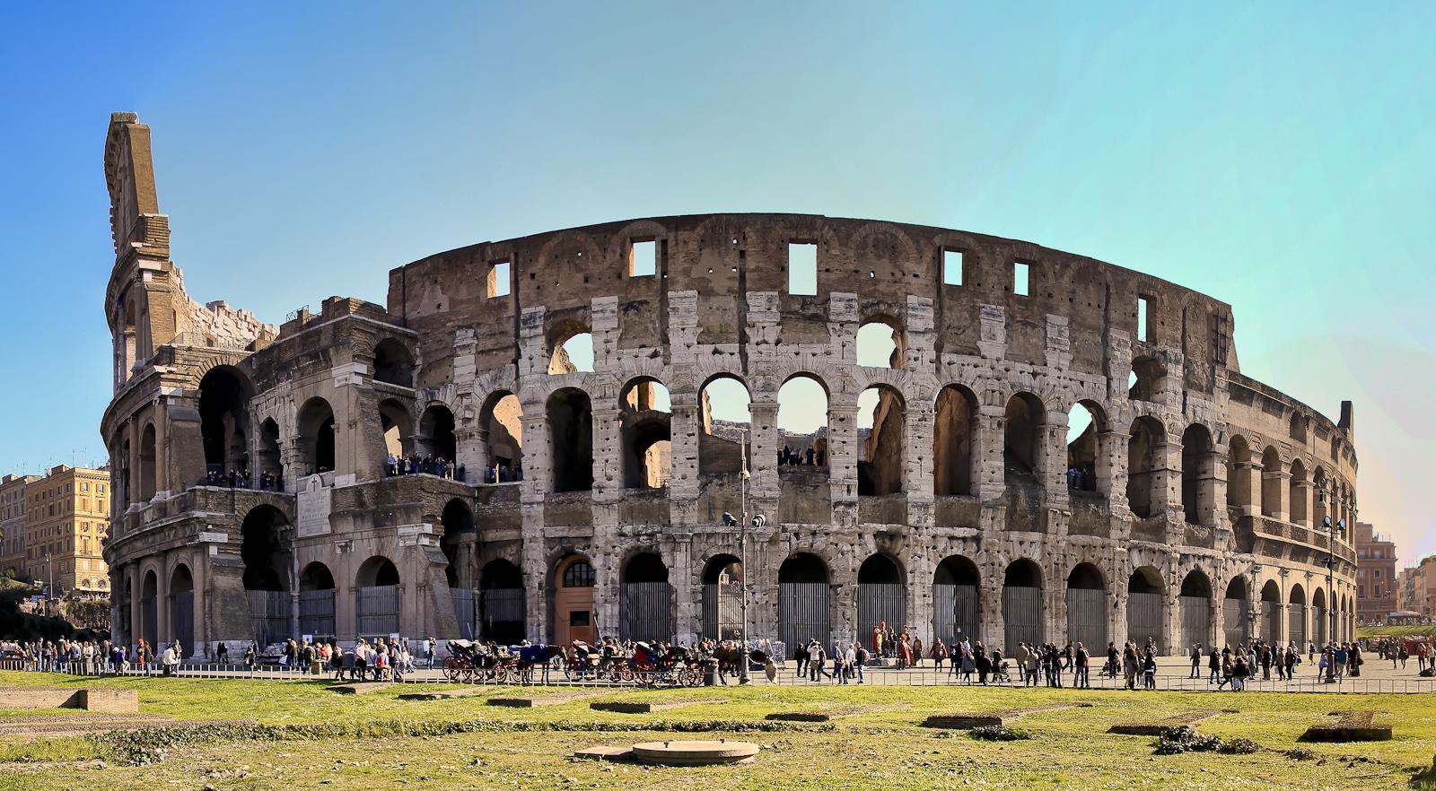 rom :: panorama colosseum VI