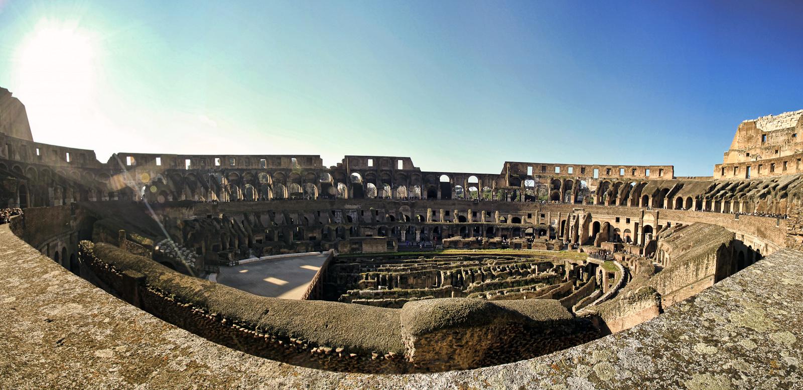 rom :: panorama colosseum II