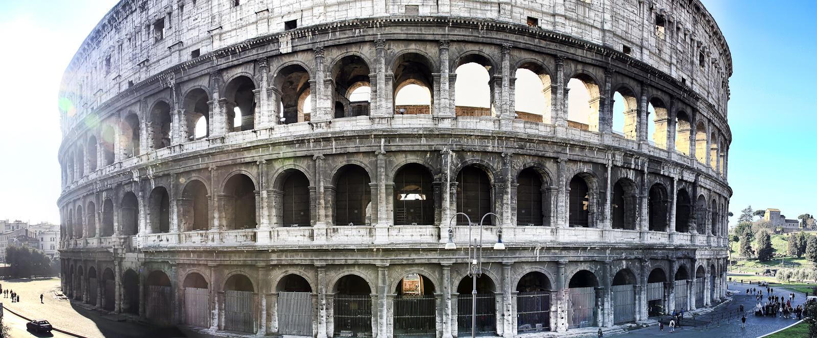 rom :: panorama colossseum I